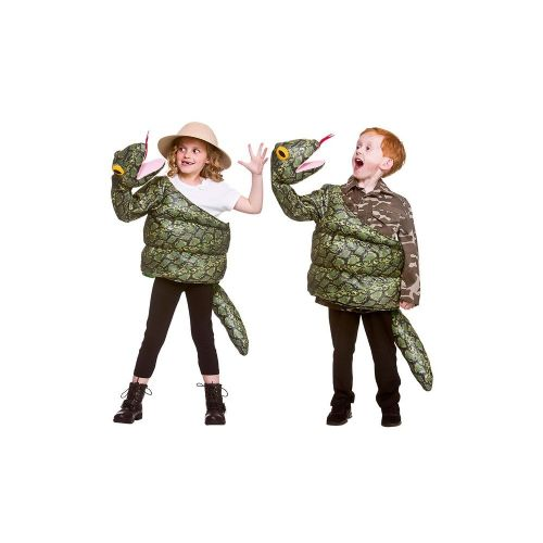 Childrens Child Snake Costume Unisex Fancy Dress